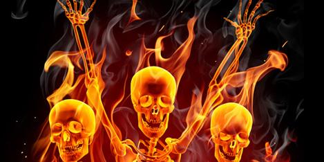 Hot Stuff : FELIX Höllenfeuer Happy Halloween